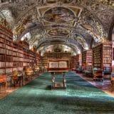 プラハ修道院図書館