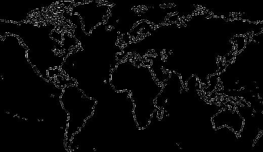 中学地理攻略に!白地図学習法
